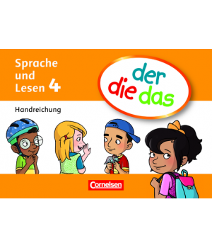 Книга для вчителя der die das - 4 Handreichungen-Kartei mit Beileger und Stülpschachtel