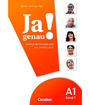 Учебник Ja genau! A1/1 Kurs- und Übungsbuch mit Lösungen und Audio-CD