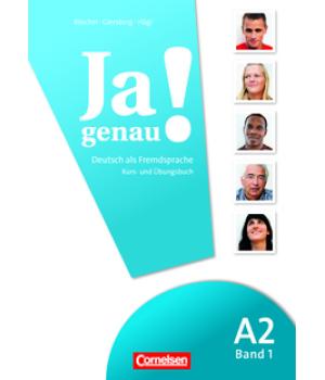 Учебник Ja genau! A2/1 Kurs- und Übungsbuch mit Lösungen und Audio-CD