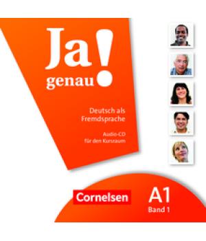 Диск Ja genau! A1/1 Audio-CD zum Kursbuch