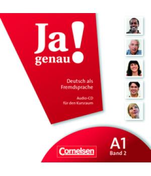 Диск Ja genau! A1/2 Audio-CD zum Kursbuch
