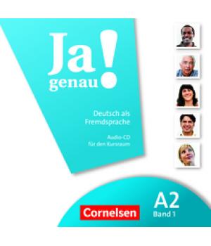 Диск Ja genau! A2/1 Audio-CD zum Kursbuch