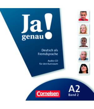 Диск Ja genau! A2/2 Audio-CD zum Kursbuch