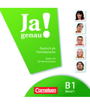 Диск Ja genau! B1/1 Audio-CD zum Kursbuch