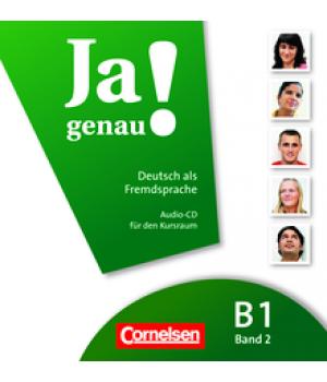 Диск Ja genau! B1/2 Audio-CD zum Kursbuch