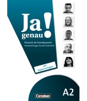 Книга для вчителя Ja genau! A2 Handreichungen für den Unterricht
