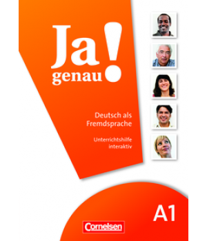 Книга для вчителя Ja genau! A1 Unterrichtshilfe interaktiv auf CD-ROM (Whiteboard)