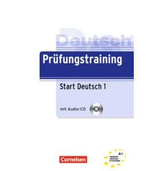 Тести Prüfungstraining DaF Start Deutsch 1 (A1) Übungsbuch mit CD