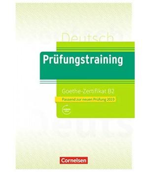 Тести Prüfungstraining DaF Goethe-Zertifikat (B2) Übungsbuch mit E-Book