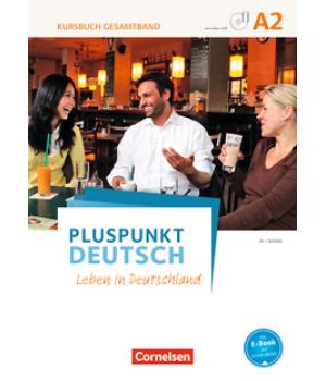 Підручник Pluspunkt Deutsch NEU A2 Kursbuch mit Video-DVD