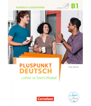 Підручник Pluspunkt Deutsch NEU B1 Kursbuch mit Video-DVD