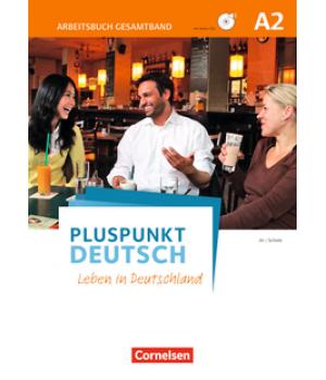Робочий зошит Pluspunkt Deutsch NEU A2 Arbeitsbuch mit Audio-CDs