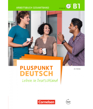 Робочий зошит Pluspunkt Deutsch NEU B1 Arbeitsbuch mit CDs und Lösungsbeileger