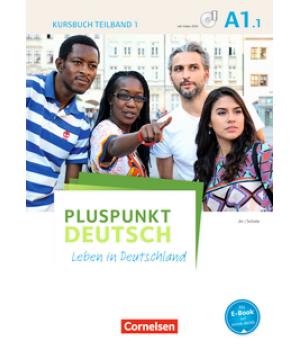 Підручник Pluspunkt Deutsch NEU A1/1 Kursbuch mit Video-DVD