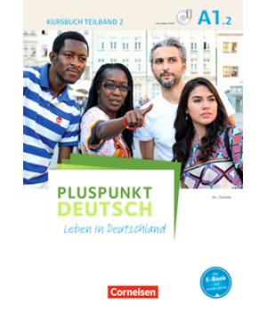 Підручник Pluspunkt Deutsch NEU A1/2 Kursbuch mit Video-DVD