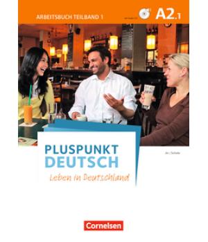 Робочий зошит Pluspunkt Deutsch NEU A2/1 Arbeitsbuch mit Audio-CD und Lösungsbeileger