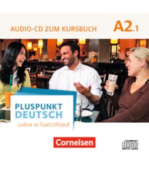 Диск Pluspunkt Deutsch NEU A2/1 Audio-CD zum Kursbuch