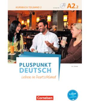 Підручник Pluspunkt Deutsch NEU A2/2 Kursbuch mit Video-DVD