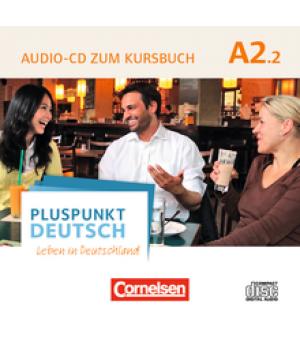 Диск Pluspunkt Deutsch NEU A2/2 Audio-CD zum Kursbuch