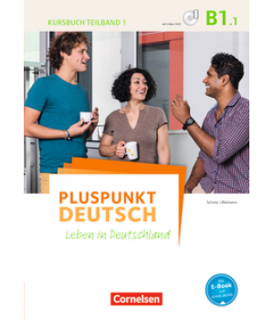 Підручник Pluspunkt Deutsch NEU B1/1 Kursbuch mit Video-DVD