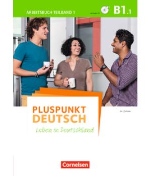 Робочий зошит Pluspunkt Deutsch NEU B1/1 Arbeitsbuch mit Audio-CD und Lösungsbeileger