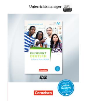 Книга для вчителя Pluspunkt Deutsch NEU A1 Unterrichtsmanager Vollversion auf DVD-ROM