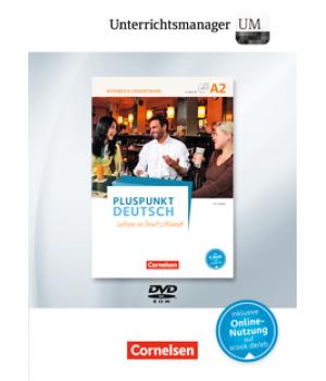 Книга для вчителя Pluspunkt Deutsch NEU A2 Unterrichtsmanager Vollversion auf DVD-ROM