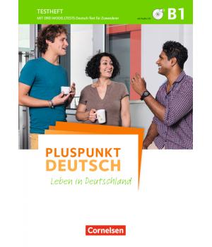 Тести Pluspunkt Deutsch NEU B1 Testheft+CD