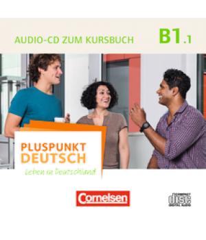 Диск Pluspunkt Deutsch NEU B1/1 Audio-CD zum Kursbuch