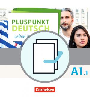 Підручник Pluspunkt Deutsch NEU A1/1 Kursbuch mit Video-DVD + Arbeitsbuch mit Audio-CDs