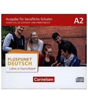 Підручник Pluspunkt Deutsch NEU A2 Schülerbuch-CDs und Arbeitsbuch-CDs (4) im WAV-Format