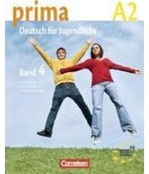 Підручник Prima - Deutsch für Jugendliche Band 4 (A2/2) Schulerbuch