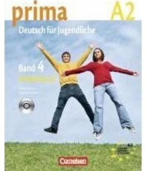 Робочий зошит Prima - Deutsch für Jugendliche Band 4 (A2/2) Arbeitsbuch