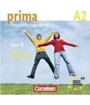 Диск Prima - Deutsch für Jugendliche Band 4 (A2/2) CD