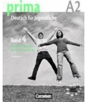 Книга для вчителя Prima - Deutsch für Jugendliche Band 4 (A2/2) Handreichungen fur den Unterricht
