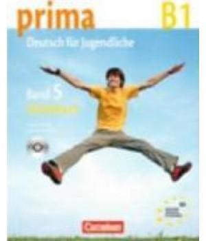 Рабочая тетрадь Prima - Deutsch für Jugendliche Band 5 (B1) Arbeitsbuch+CD