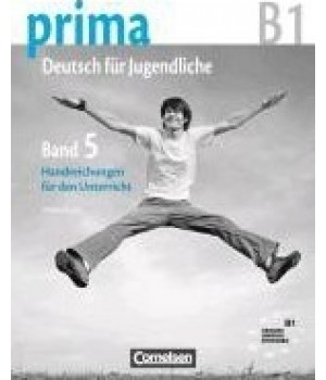 Книга для учителя Prima - Deutsch für Jugendliche Band 5 (B1) Handreichungen fur den Unterricht