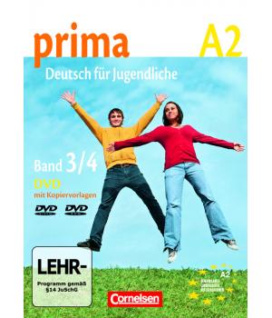 Диск Prima - Deutsch für Jugendliche Band 3, 4 Video- DVD