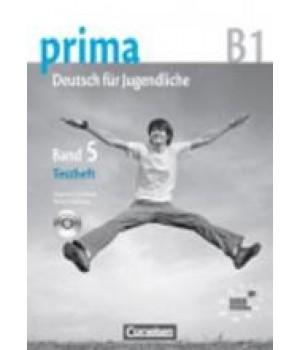 Тести Prima - Deutsch für Jugendliche Band 5 (B1) Testheft