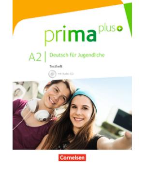 Тести Prima plus A2 Testheft mit Audio-CD