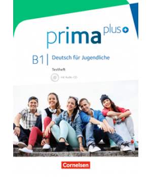 Тести Prima plus B1 Testheft mit Audio-CD