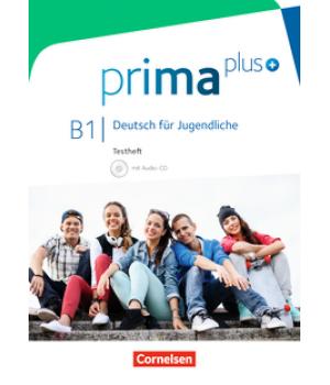Тесты Prima plus B1 Testheft mit Audio-CD