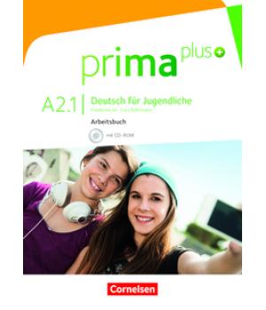 Робочий зошит Prima plus A2/1 Arbeitsbuch mit CD-ROM