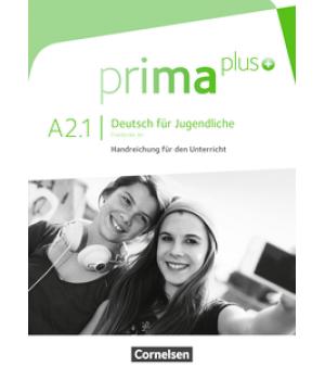 Книга для вчителя Prima plus A2/1 Handreichungen für den Unterricht