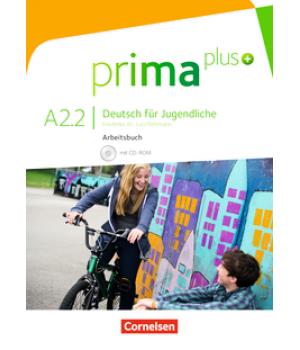 Робочий зошит Prima plus A2/2 Arbeitsbuch mit CD-ROM