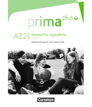 Книга для вчителя Prima plus A2/2 Handreichungen für den Unterricht