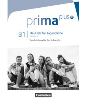 Книга для вчителя Prima plus B1 Handreichungen für den Unterricht