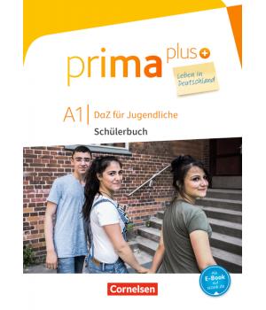 Підручник Prima plus A1 Leben in Deutschland Schülerbuch mit MP3-Download