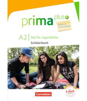 Підручник Prima plus A2 Leben in Deutschland Schülerbuch mit MP3-Download