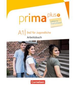 Робочий зошит Prima plus A1 Leben in Deutschland Arbeitsbuch mit MP3-Download und Lösungen